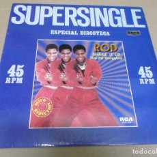 Discos de vinilo: ROD (MAXI) SHAKE IT UP (DO THE BOOGALOO) (2 TRACKS) AÑO – 1981. Lote 296696963