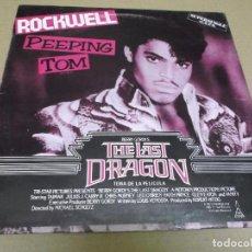 Discos de vinilo: ROCKWELL (MAXI) PEEPING TOM (2 TRACKS) AÑO – 1985. Lote 296700493