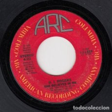 Discos de vinilo: D. J. ROGERS - PRESSING ON / SHE BELIEVES IN ME - SINGLE DE VINILO EDITADO EN U.S.A #. Lote 296701913