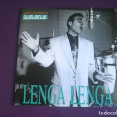 Discos de vinilo: LOS COYOTES DE VICTOR ABUNDANCIA – LENGA LENGA - SG TRES CIPRESES 1991- LATIN ROCK -. Lote 296702183