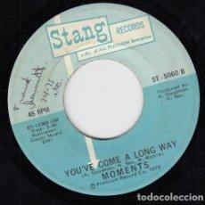 Discos de vinilo: MOMENTS - LOOK AT ME / YOU'VE COME A LONG WAY - SINGLE DE VINILO EDITADO EN U.S.A #. Lote 296702303