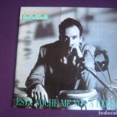Discos de vinilo: LOS COYOTES DE VICTOR ABUNDANCIA – ESTA NOCHE ME VOY A BAILAR - SG TRES CIPRESES 1991- LATIN ROCK -. Lote 296702388
