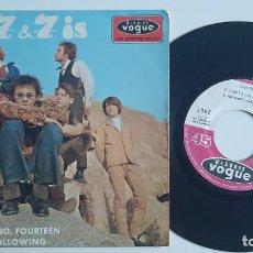 """Discos de vinilo: LOVE 7 & 7 IS EP 45 RARÍSIMA EDICIÓN ORIGINAL FRANCIA 1966 FRENCH 7"""" EX COND ARTHUR LEE. Lote 296706898"""