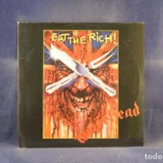 Discos de vinilo: MOTÖRHEAD - EAT THE RICH - SINGLE. Lote 296709478