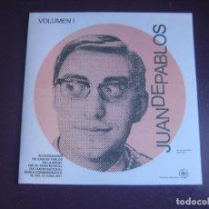 Discos de vinilo: VOLUMEN I ESPECIAL 50 ANIVERSARIO JUAN DE PABLOS EN LA RADIO EP RUMBLE 2017 - GAINSBOURG - CELENTANO. Lote 296709623