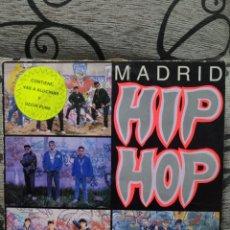 Discos de vinilo: MADRID HIP HOP. Lote 296715288