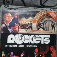 Discos de vinilo: ROCKETS – ON THE ROAD AGAIN / SPACE ROCK. Lote 296718248