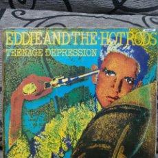 Discos de vinilo: EDDIE AND THE HOT RODS – TEENAGE DEPRESSION. Lote 296718933