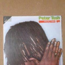 Discos de vinilo: PETER TOSH. MYSTIC MAN. 1979 ESPAÑA. 056-1629141. DISCO VG+. CARÁTULA VG+.. Lote 296730113