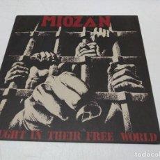 Discos de vinilo: MIOZÄN - CAUGHT IN THEIR FREE WORLD. Lote 296730368
