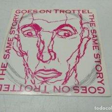 Discos de vinilo: TROTTEL - THE SAME STORY GOES ON THE CASTLE ON THE PEAK+ INSERT. Lote 296730828