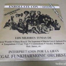 Discos de vinilo: REGAL FUNKHARMONIC ORCHESTRA (MAXI) STRUNG OUT ON MOTOWN (2 TRACKS) AÑO – 1982. Lote 296736278