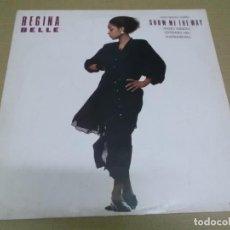 Discos de vinilo: REGINA BELL (MAXI) SHOW ME THE WAY (3 TRACKS) AÑO – 1987. Lote 296736353