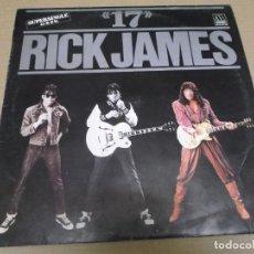 Discos de vinilo: RICK JAMES (MAXI) 17 (2 TRACKS) AÑO – 1984. Lote 296736463