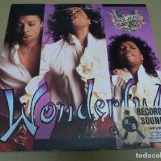 Discos de vinilo: RICK JAMES (MAXI) WONDERFUL (6 TRACKS) AÑO – 1988 – EDICION U.S.A.. Lote 296736678