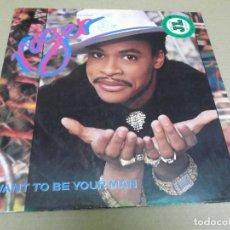 Discos de vinilo: ROGER (MAXI) I WANT TO BE YOUR MAN (4 TRACKS) AÑO – 1987 – EDICION U.S.A.. Lote 296737198