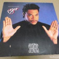Discos de vinilo: ROGER (MAXI) THRILL SEEKERS (3 TRACKS) AÑO – 1987 – EDICION ALEMANIA. Lote 296737278