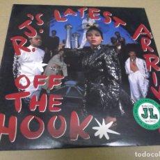 Discos de vinilo: R.J.'S LATEST ARRIVAL (MAXI) OFF THE HOOK (4 TRACKS) AÑO – 1988 – EDICION U.S.A.. Lote 296737468