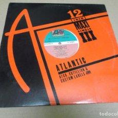 Discos de vinilo: R.J.'S LATEST ARRIVAL (MAXI) SWING LOW (4 TRACKS) AÑO – 1985 – EDICION U.S.A.. Lote 296737538