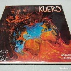 Discos de vinilo: KUERO - AL FILO DE LO POSIBLE. Lote 296737588