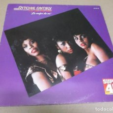Discos de vinilo: RITCHIE FAMILY (MAXI) I'LL DO MY BEST (2 TRACKS) AÑO – 1982. Lote 296737618