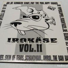Discos de vinilo: VARIOUS - IROKÄSE SOUND VOL. II (LP, COMP)+CON EL INSERT. Lote 296737863