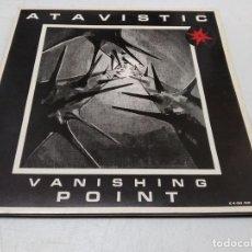 Discos de vinilo: ATAVISTIC - VANISHING POINT. Lote 296738028