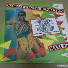 Discos de vinilo: REGGAE REVOLUTION (MAXI) MEDDLEY REGGAE REVOLUTION (2 TRACKS) AÑO – 1981 – EDICION FRANCIA. Lote 296738133