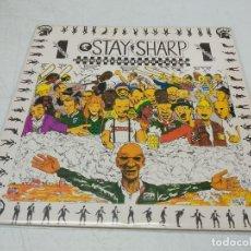 Discos de vinilo: STAY SHARP VOLUMEN 1. Lote 296738198