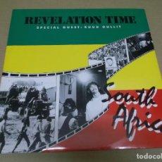 Discos de vinilo: REVELATION TIME (MAXI) SOUTH AFRICA (3 TRACKS) AÑO – 1988 – EDICION U.K.. Lote 296739903