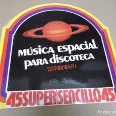 Discos de vinilo: ROCK ODYSSEY – SATURNE EA 1 (MAXI) TRIBUTE TO ELVIS – MAGIC FLY (3 TRACKS) AÑO – 1977. Lote 296740198