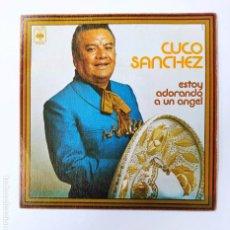Discos de vinilo: CUCO SANCHEZ. ESTOY ADORANDO A UN ANGEL. SINGLE. TDKDS3. Lote 296741828