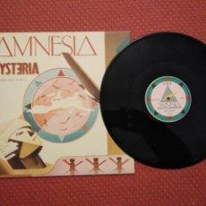 Discos de vinilo: AMNESIA - HYSTERIA INDISC MADE IN BELGIUM. Lote 296744168