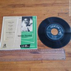 Discos de vinilo: DISCO DE VINILO DE 45RPM DE LORENZO GONZÁLEZ Y SU ORQUESTA. CHIQUITA BONITA. Lote 296764499