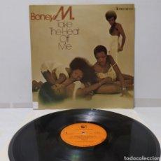 Discos de vinilo: BONEY M - TAKE THE HEAT OFF ME 1976 ED HOLANDESA. Lote 296766713