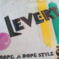 Discos de vinilo: MX. LEVERT - ROPE A DOPE STYLE. Lote 296778738