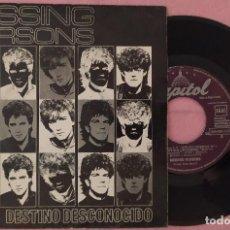 "Discos de vinilo: 7"" MISSING PERSONS - DESTINO DESCONOCIDO - CAPITOL 006-086613 - SPAIN PRESS - PROMO (VG++/VG++). Lote 296790568"