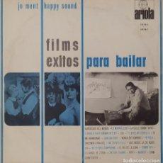 """Discos de vinilo: 10"""" JO MENT'S HAPPY SOUND - FILMS / EXITOS PARA BAILAR - ARIOLA 30184 (EX/EX). Lote 296797278"""