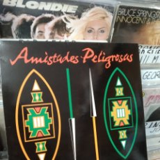 Discos de vinilo: AMISTADES PELIGROSAS AFRICANOS EN MADRID. Lote 296807043