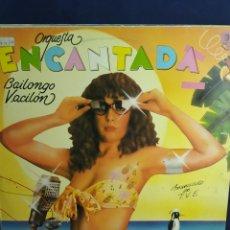 Discos de vinilo: LP ORQUESTA ENCANTADA. BAILONGO VACILÓN. Lote 296816248