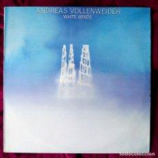 Discos de vinilo: ANDREAS VOLLENWEIDER – WHITE WINDS, ESPAÑA 1984, CBS– S 26195, COMO NUEVO (NM_NM). Lote 296832803