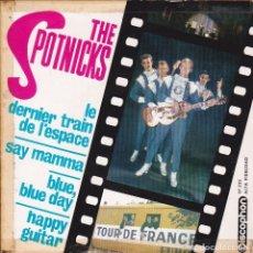 Discos de vinilo: THE SPOTNICKS - LE DERNIER TRAIN DE L'ESPACE / SAY MAMMA Y DOS TEMAS MÁS - DISCOPHON 27.225 - 1963. Lote 296835853