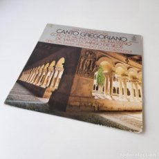 Discos de vinilo: CORO DE MONJES DEL MONASTERIO BENEDICTINO DE SANTO DOMINGO DE SILOS - OBRAS MAESTRAS DEL CANTO GREGO. Lote 296837468