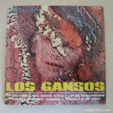 Discos de vinilo: LOS GANSOS - LA HISTORIA DEL ROCK & ROLL +3 - RARO EP RCA PROMO SPAIN 1968 GARAGE BEAT EX++. Lote 296838753