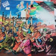 """Discos de vinilo: SPEED – YA ESTAMOS EN EUROPA.1986. SELLO: VICTORIA – VIC-272 FORMATO: VINYL, 12"""",. Lote 296852353"""