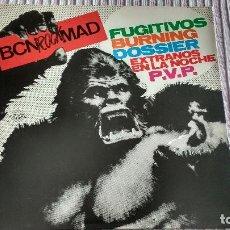 Discos de vinilo: BURNING, FUGITIVOS, EXTRAÑOS EN LA NOCHE, DOSSIER, PVP. Lote 296852863