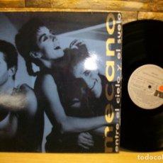 Discos de vinilo: MECANO – ENTRE EL CIELO Y EL SUELO LP. Lote 296853853