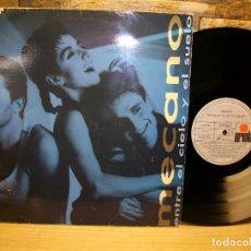 Discos de vinilo: MECANO – ENTRE EL CIELO Y EL SUELO VINILO LP. Lote 296854178