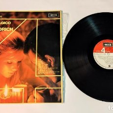 """Discos de vinilo: 1021- EL ESTILO MAGICO DE RONNIE ALDRICH VIN 12"""" LP POR VG DIS VG ES. Lote 296856533"""