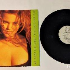 "Discos de vinilo: 1021-BELINDA CARLISLE LEAVE A LIGHT ON VIN 12"" POR G+ DIS G 1989. Lote 296857693"